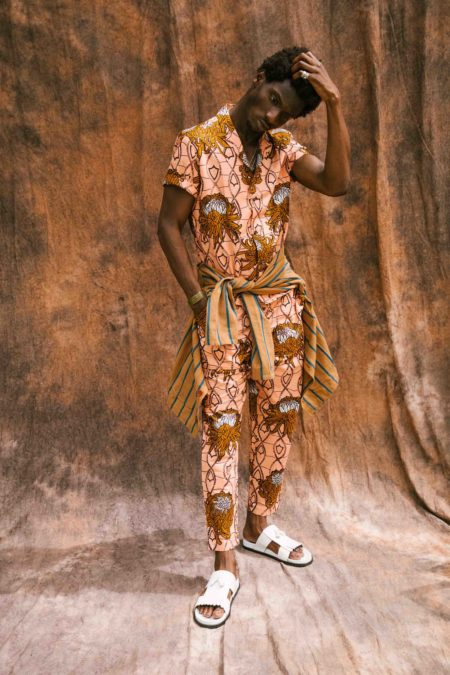 Adonis Bosso wearing a protea shirt
