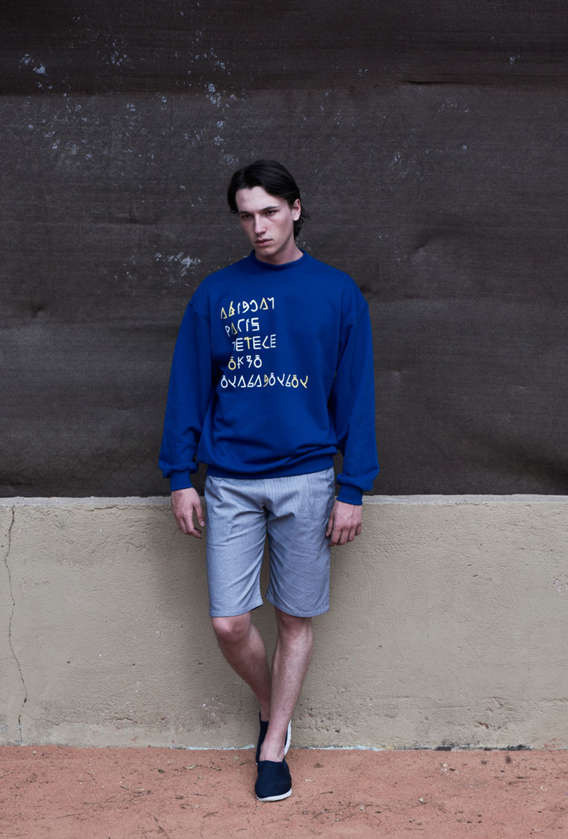 fakir blue sweater