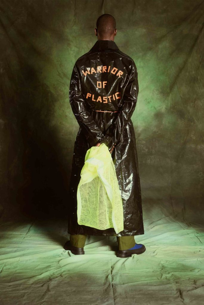 warrior of plastic long shirt from Children of Earth collection