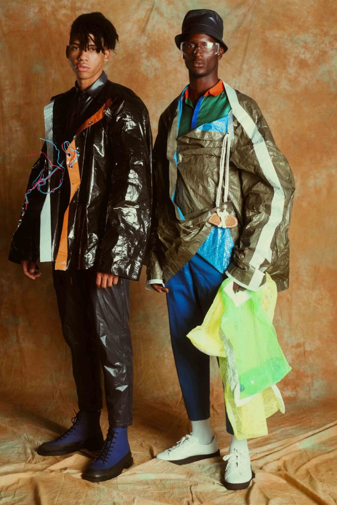 two models wearing the Children of the Earth collection
